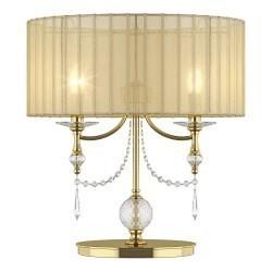 Lightstar (MT500012-2) ! 2 КОР! Настольная лампа PARALUME 2х40W E14 ЗОЛОТО, 725923