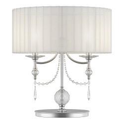 Lightstar (MT500011-2) ! 2 КОР! Настольная лампа PARALUME 2х40W E14 БЕЛЫЙ, 725926