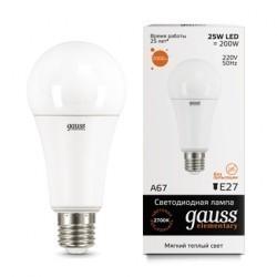 Gauss LED Elementary A67 73215