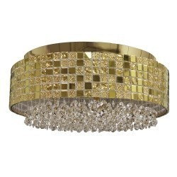 Lightstar (1024/6) Люстра потолочная  BEZAZZ 6х40W G9 ЗОЛОТО, 743062