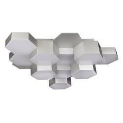 Lightstar (MX13003032-12А) Люстра потол FAVO LED-60W 2880LM Silver 4000K, 750124