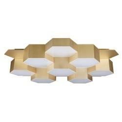 Lightstar (MX13003032-16А) Люстра потол FAVO LED-80W 3840LM Satin Gold 4000K, 750163