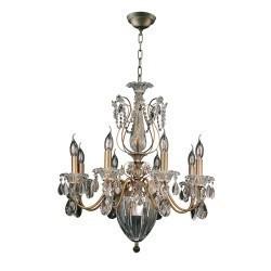 Lightstar (MD300027-8+3)  Люстра SCHON 11х60W E14 Bronze, 790111