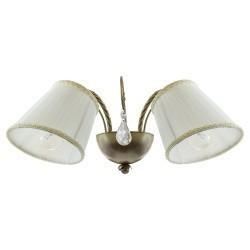Lightstar (SB1115-2) Бра ESEDRA 2x40W E27 BRONZE ткань, 796621