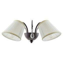 Lightstar (SB1115-2) Бра ESEDRA 2x40W E27 BROWN ткань, 796628
