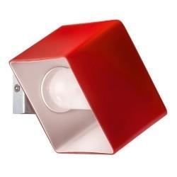 Lightstar (MB328-1R) Светильник настенный PEZZO 1х40W G9 ХРОМ/КРАСНЫЙ, 801612