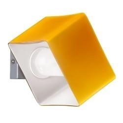 Lightstar (MB328-1SO) Светильник настенный PEZZO 1х40W G9 ХРОМ/ЯНТАРЬ, 801613