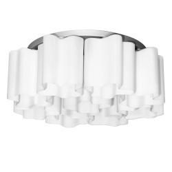 Lightstar (MC998-9A) Люстра NUBI 9х40W E27 БЕЛЫЙ/ ХРОМ, 802090