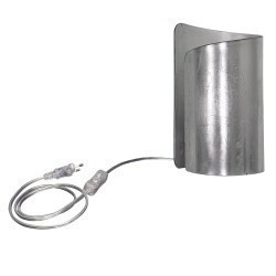 Lightstar (MT6000-1SL) Настольная лампа  PITTORE 1х40W  E27 SILVER, 811914