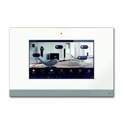 Панель управления сенсорная Busch ComfortPanel 9, белое стекло