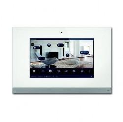 Панель управления сенсорная Busch ComfortPanel 12, белое стекло