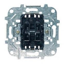 Механизм выключателя 2-клавишного: кнопка + переключатель ABB Коллекции Niessen, скрытый монтаж, 8142