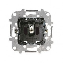Механзим розетки ABB SKY, скрытый монтаж, с заземлением, со шторками, 2CLA818700A1001