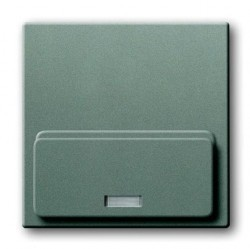 8200-0-0137 solo Накладка механизма док-станции Busch-iDock 8218 U, серый металлик