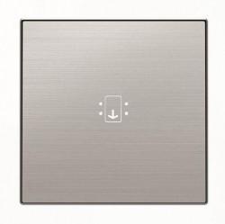 Накладка на карточный выключатель ABB SKY, нержавеющая сталь, 2CLA851400A1401
