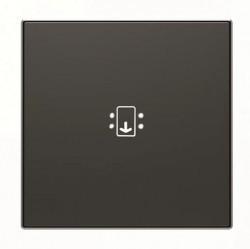 Накладка на карточный выключатель ABB SKY, черный бархат, 2CLA851400A1501