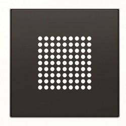 SKY Накладка для механизма зуммера 8119, звонка 8124 и громкоговорителя 9329, чёрный бархат