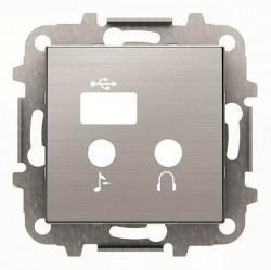 SKY Накладка для механизма медиа-комбайна арт.9368.3, нержавеющая сталь