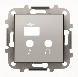 SKY Накладка для механизма медиа-комбайна арт.9368.3, серебристый алюминий