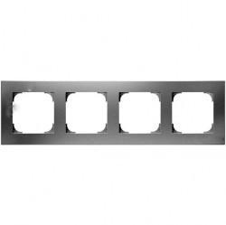 Рамка 4 поста ABB SKY, альпийский белый, 2CLA857410A1101