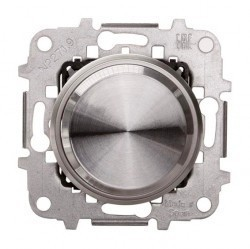 Механизм электронного поворотного светорегулятора ABB SKY MOON,Кольцо хром, 2CLA866020A1401