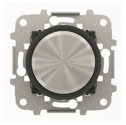 Механизм электронного поворотного светорегулятора ABB SKY MOON,Кольцо черное стекло, 2CLA866000A1501