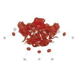 Lightstar  (MХ8135-12) Люстра CELESTA LED 12х6W(Led) G9  RED, 893022