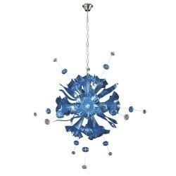 Lightstar  (MD8135-12) Люстра CELESTA LED 12х6W(Led) G9 SKY BLUE, 893121