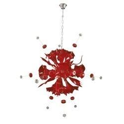 Lightstar  (MD8135-12) Люстра CELESTA LED 12х6W(Led) G9  RED, 893122