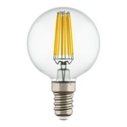Lightstar Лампа LED FILAMENT 220V G50  E14 6W=65W 400-430LM 360G CL 4200K 30000H, 933804