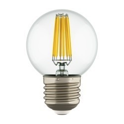 Lightstar Лампа LED FILAMENT 220V G50  E27 6W=65W 400-430LM 360G CL 4200K 30000H, 933824