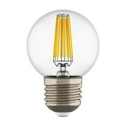 Lightstar Лампа LED FILAMENT 220V G50  E27 6W=65W 400-430LM 360G CL 4200K 30000H, 933824