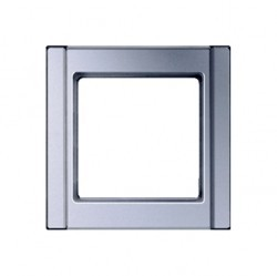 Рамка 1 пост Jung A 500, алюминий, A581AL