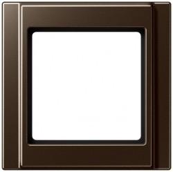 Рамка 1 пост Jung A 500, мокко, A581MO