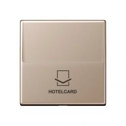 Накладка на карточный выключатель Jung А-СЕРИЯ, шампань, A590CARDCH