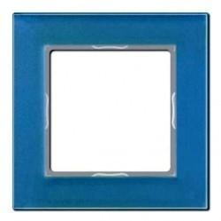 Рамка 1 пост Jung A CREATION, голубой, AC581GLBLGR