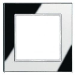 Рамка 1 пост Jung A CREATION, зеркальное серебро, AC581GLSI