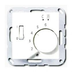Накладка на термостат Jung А-СЕРИЯ, белый, AFTR231PLWW