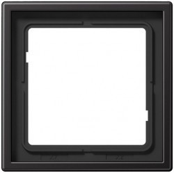 Рамка 1 пост Jung LS METAL, темный алюминий, AL2981D