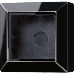 A500 Коробка 1-ная для накладного монтажа чёрн.
