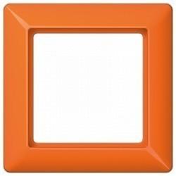 Рамка 1 пост Jung AS 500, оранжевый, AS581BFO