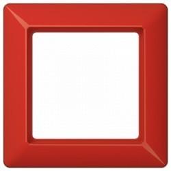 Рамка 1 пост Jung AS 500, красный, AS581BFRT