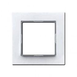 Рамка 1 пост Jung AS 500, белый, AS581WW