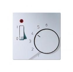 Накладка на термостат Jung А-СЕРИЯ, алюминий, ATR231PLAL