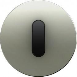 Накладка на поворотный выключатель Berker R.CLASSIC, нержавеющая сталь, 10012004