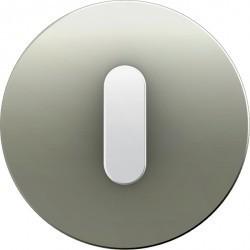 Накладка на поворотный выключатель Berker R.CLASSIC, белый блестящий, 10012014