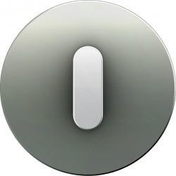 Накладка на поворотный выключатель Berker R.CLASSIC, белый блестящий, 10012074