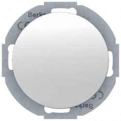 Заглушка Berker R.CLASSIC, белый блестящий, 10092079