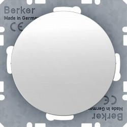 Заглушка Berker, белый блестящий, 10092089