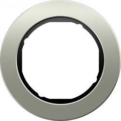 Рамка 1 пост Berker R.CLASSIC, нержавеющая сталь, 10112004